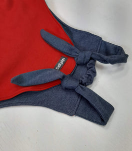 Reversible Knit Overalls