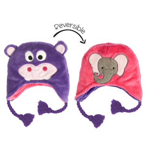 Reversible Animal Hats