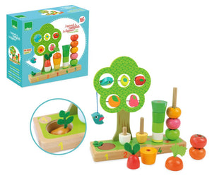 Activity - I learn counting vegetables