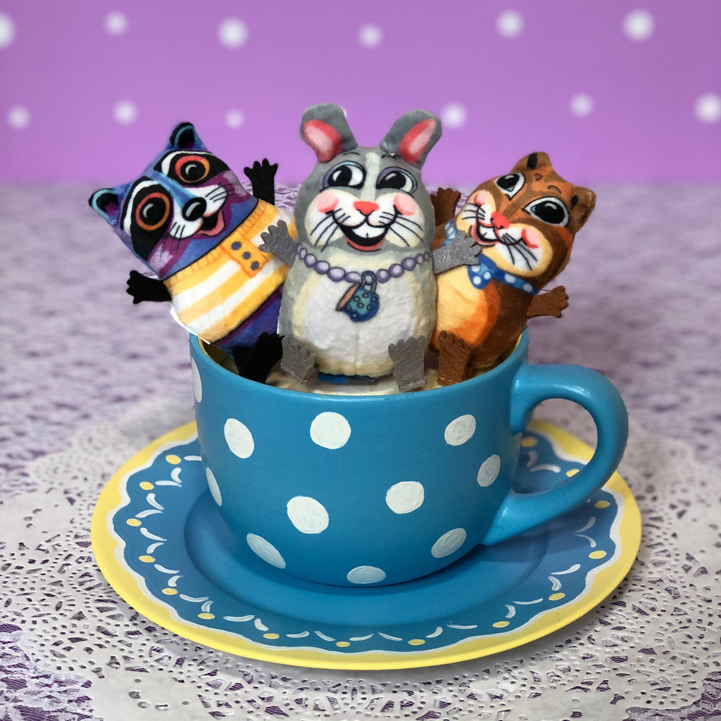 Teacup Fluffs<br>for Cats