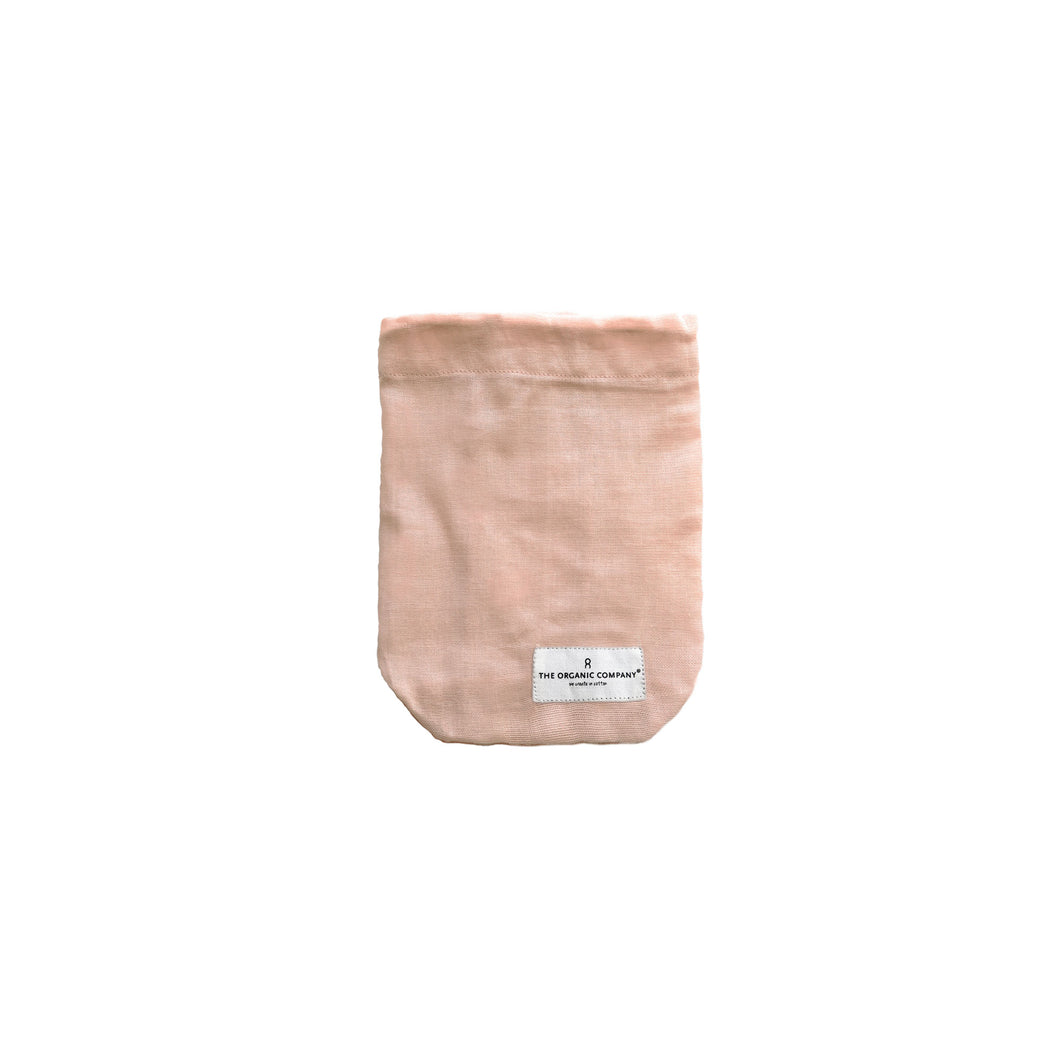 Organic Cotton All Purpose Pink Bag - Small