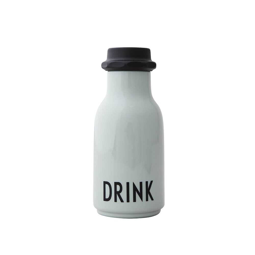 Design Letters Water Bottle - Green