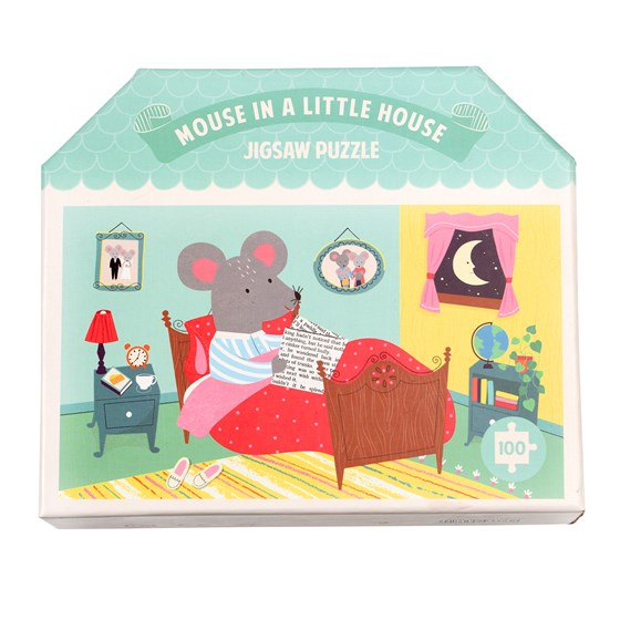 Mouse In The House Puzzle (100 pieces)