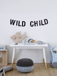 Kids Wall Garland 'Wild Child'