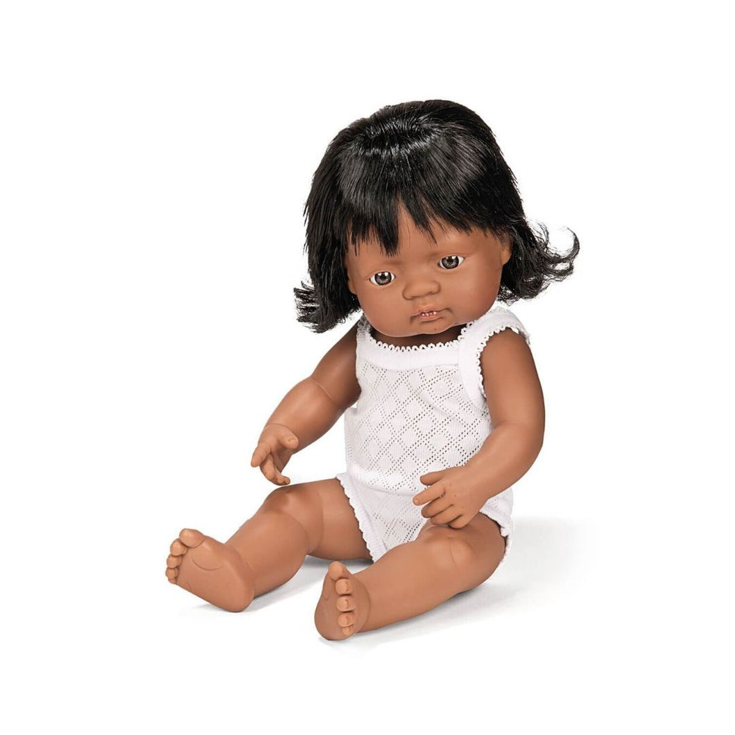 Miniland Hispanic Girl Doll 38cm