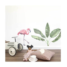 Load image into Gallery viewer, Flamingo Wall Sticker