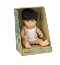 Load image into Gallery viewer, Miniland Asian Boy Doll 38cm