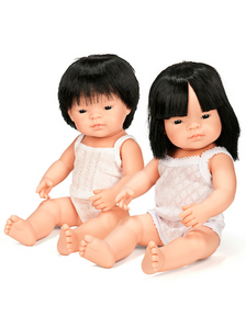 Miniland Asian Boy Doll 38cm