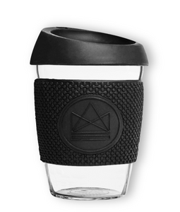 Reusable glass cup- Rockstar