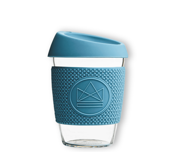 Reusable glass cup- Super Sonic