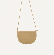 Load image into Gallery viewer, Vegan Half Moon Bag - Straw