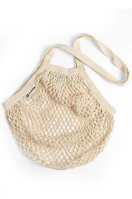 Load image into Gallery viewer, Organic Cotton Long Handled String Bag