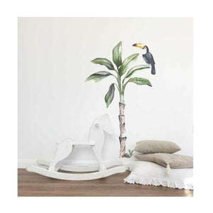 Banana Tree Wall Sticker Set