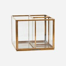 Load image into Gallery viewer, Brass Desk Storage Box