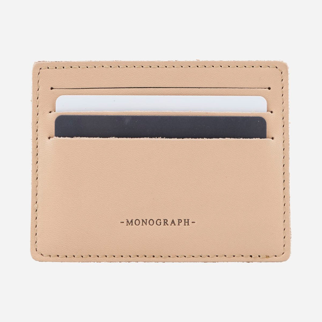Card Holder - Nude
