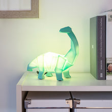 Load image into Gallery viewer, Green Diplodocus Dinosaur Lamp