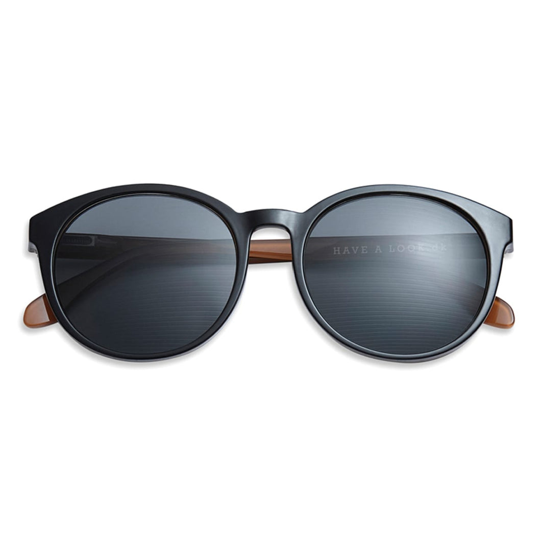 Diva Sunglasses - Black/Brown