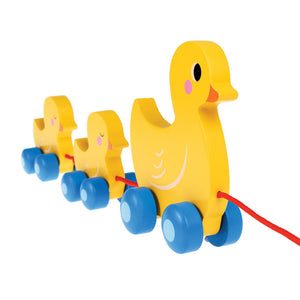 Wooden Duck Family Pull Along Toy