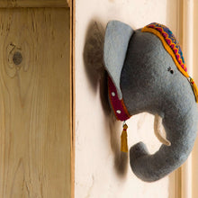 Load image into Gallery viewer, Jumbo the Elephant Decorative Felt Head