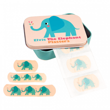 Load image into Gallery viewer, Elephant Plasters in a Tin