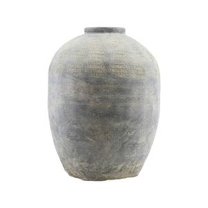 Rustic Concrete Vase/Planter Pot - Large