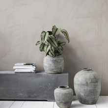 Load image into Gallery viewer, Rustic Concrete Vase/Planter Pot - Large