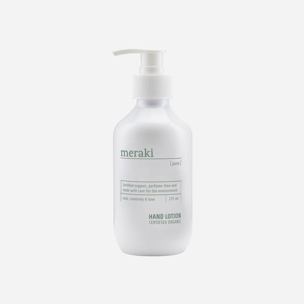 Organic Hand Lotion - Pure