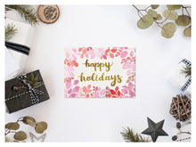 Load image into Gallery viewer, Happy Holidays Greeting Card