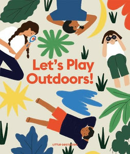 Let's Play Outdoors Book