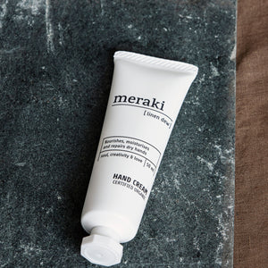 Meraki Organic Hand Cream - Linen Dew 50ml