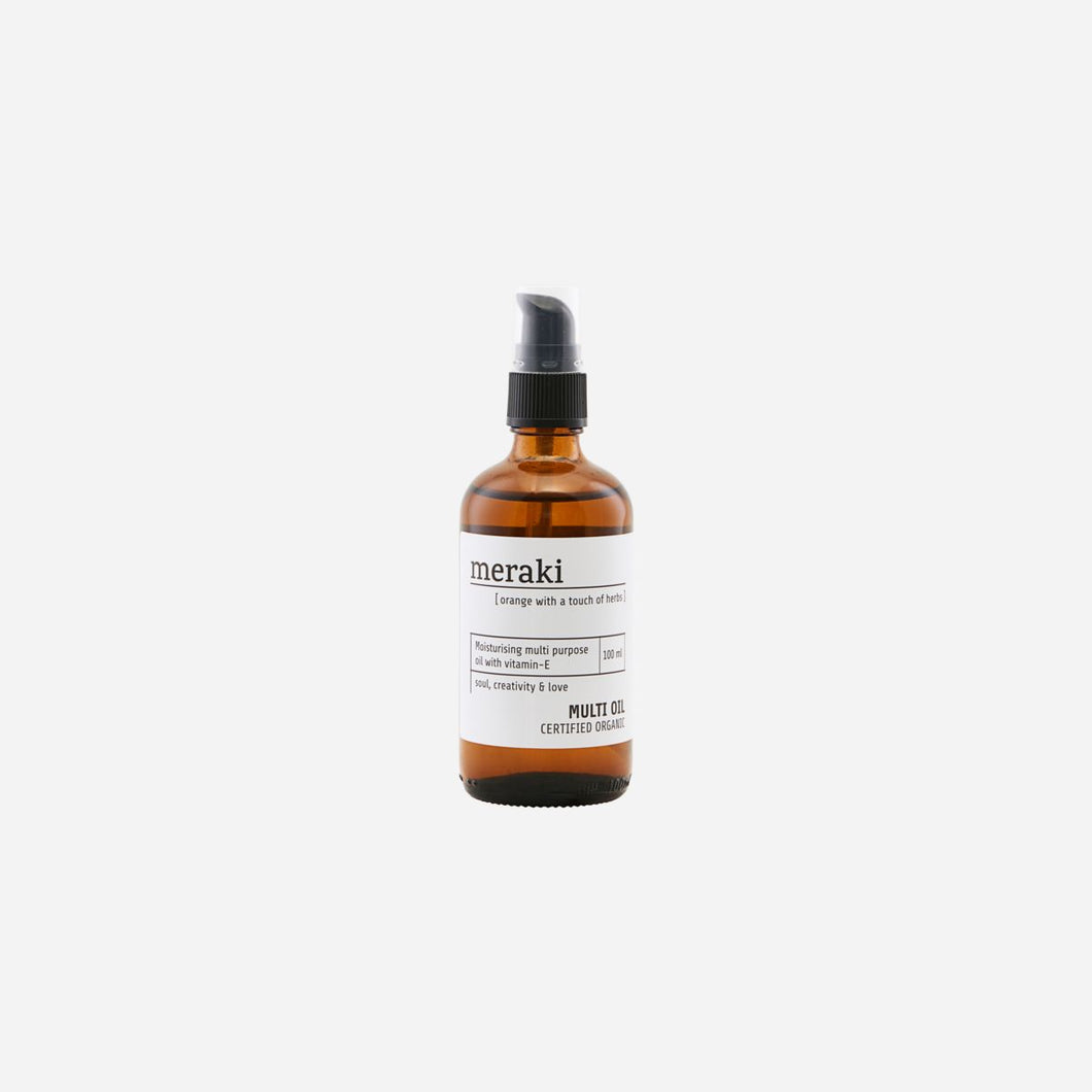 Meraki Organic Body Oil - Herbs and Orange