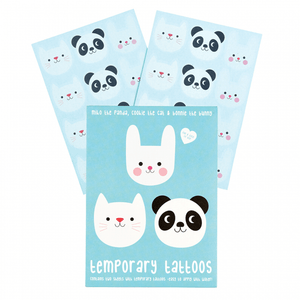 Panda and Friends Temporary Tattoos