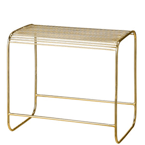 Gold Wire Stool