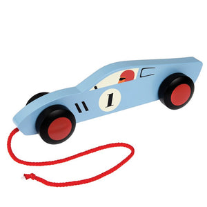 Retro Wooden Car Toy