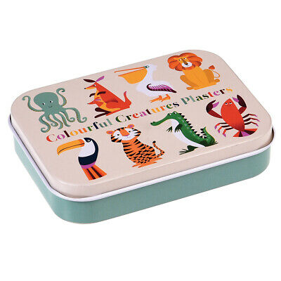 Animal Plasters In A Tin