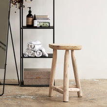 Load image into Gallery viewer, Wooden Stool