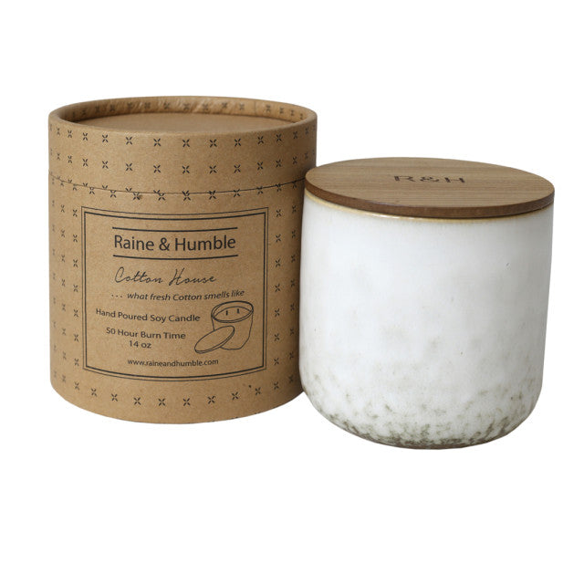 Cotton House Scented Soy Candle