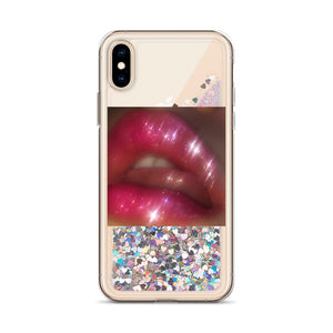 Pretty Please Liquid Glitter iPhone Case