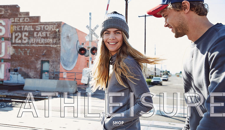 athleisure sportswear and hoodies