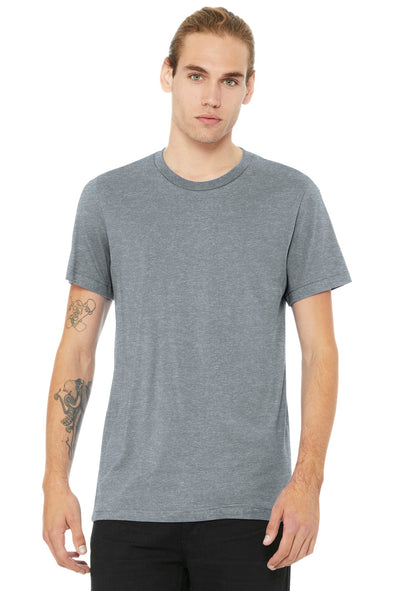 BELLA+CANVAS Heather CVC Short Sleeve Tee