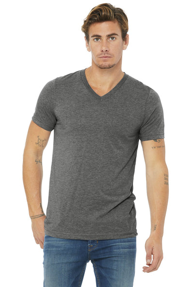 BELLA+CANVAS Triblend Short Sleeve V-Neck Te