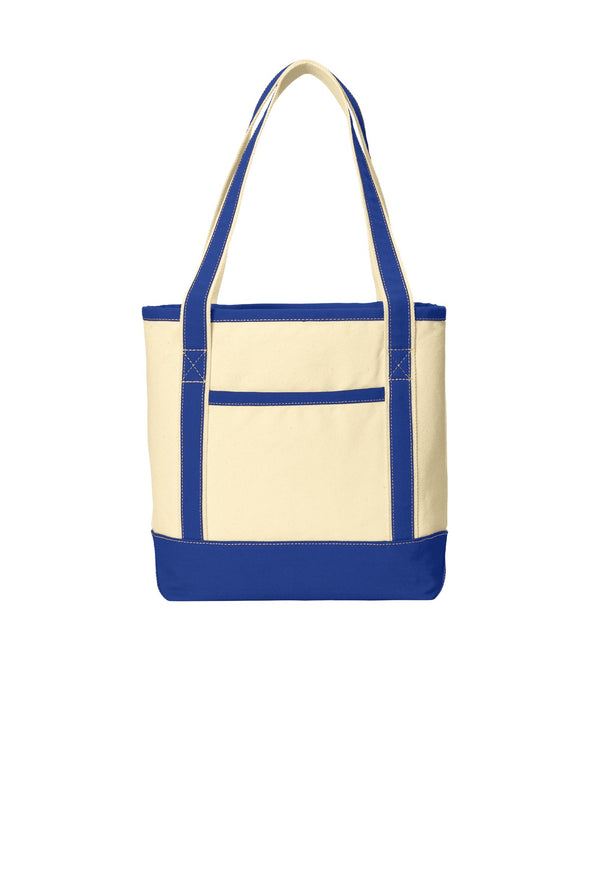 Port Authority Medium Cotton Canvas Boat Tote