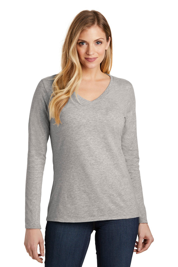 District Women's Very Important Tee Long Sleeve V-Neck