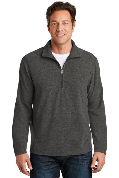 Port Authority Heather Microfleece 1/2-Zip Pullover