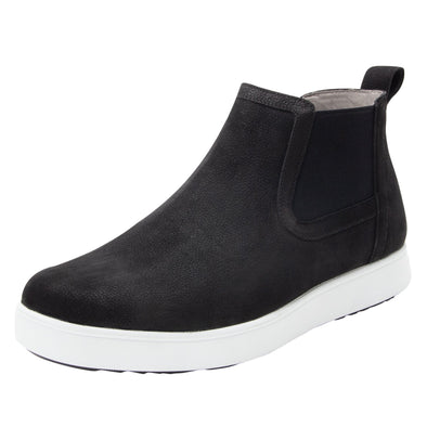SLIQ BLACK NUBUCK MENS