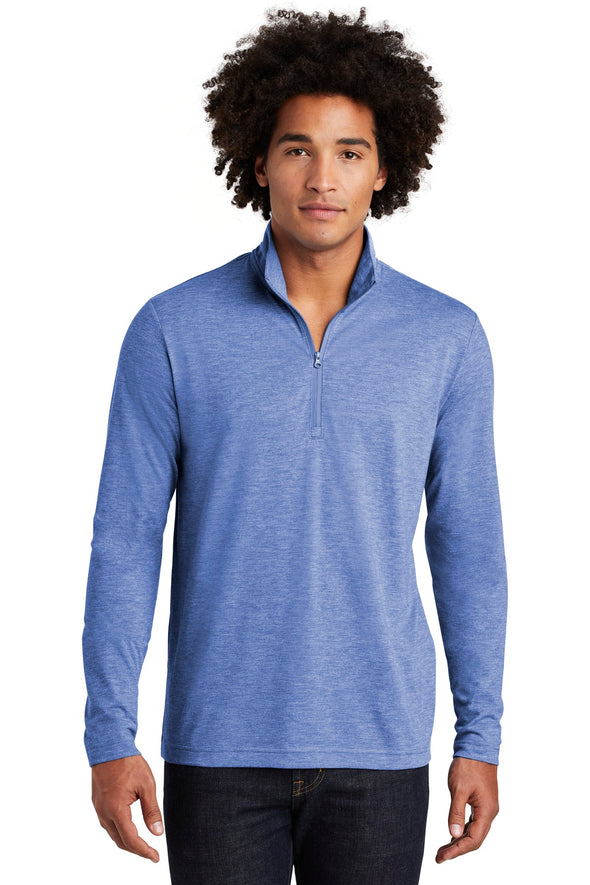 Sport-Tek PosiCharge Tri-Blend Wicking 1/4-Zip Pullover
