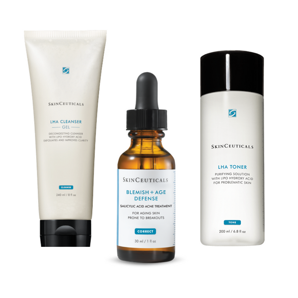 ACNE SKIN REGIMEN SET