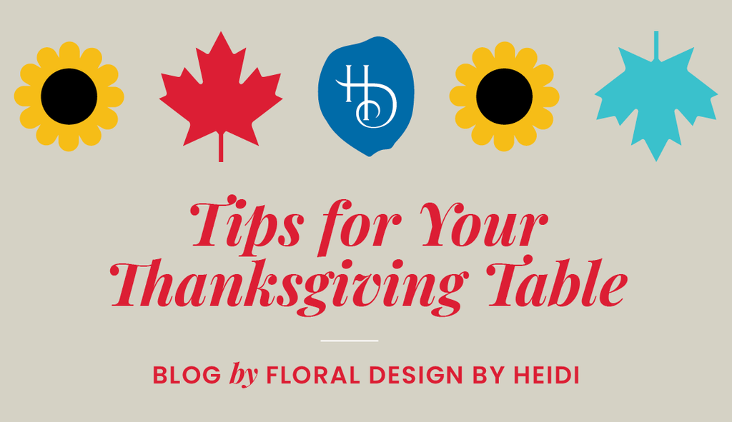 5 Tips for Your Thanksgiving Table