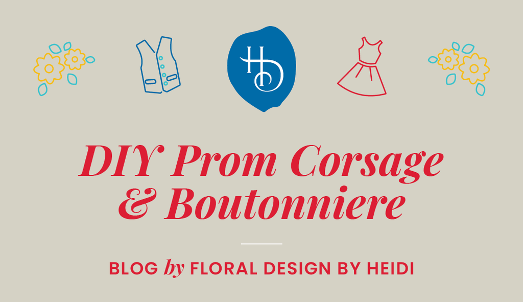 DIY Prom Corsage & Boutonniere