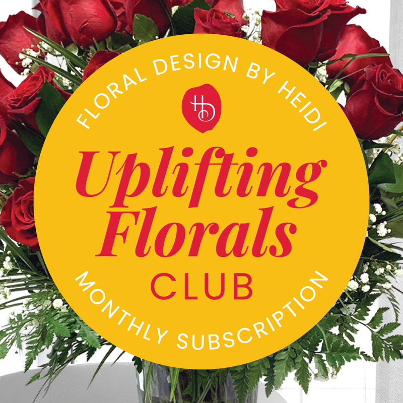 Uplifting Florals - Monthly Subscription